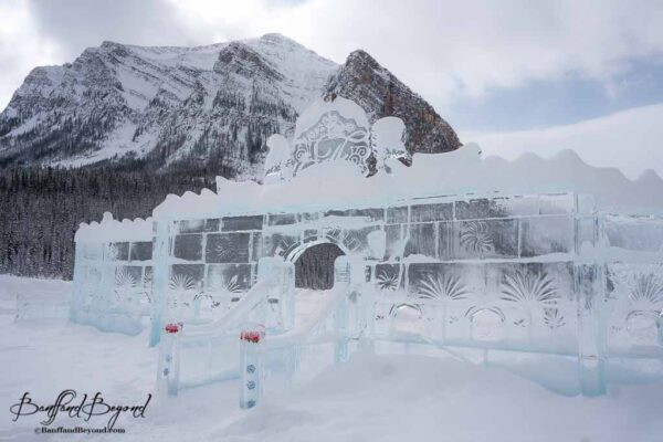 carved-ice-castle-lake-louise-frozen-winter-skating-rink