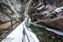 Hiking To Johnston Canyon's Frozen Waterfalls