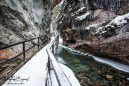 Hiking To Johnston Canyon's Frozen Waterfalls