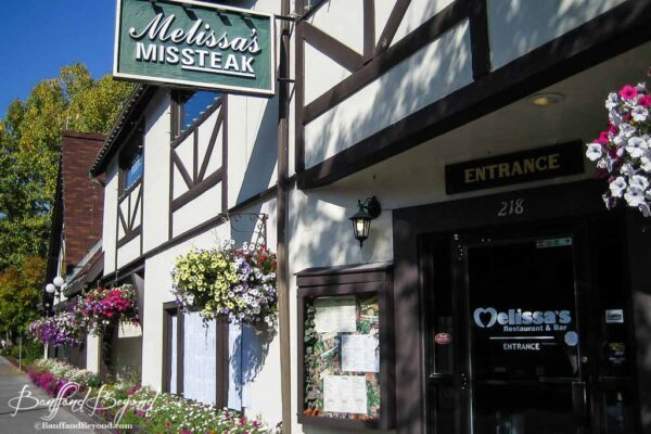 exterior-building-melissas-missteak-good-cheap-food-banff-locals-restaurant