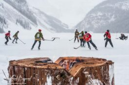 The Lake Louise Pond Hockey Classic, This Is As Canadian As It Gets!