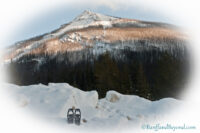 Snowshoeing On The Paint Pots Trail