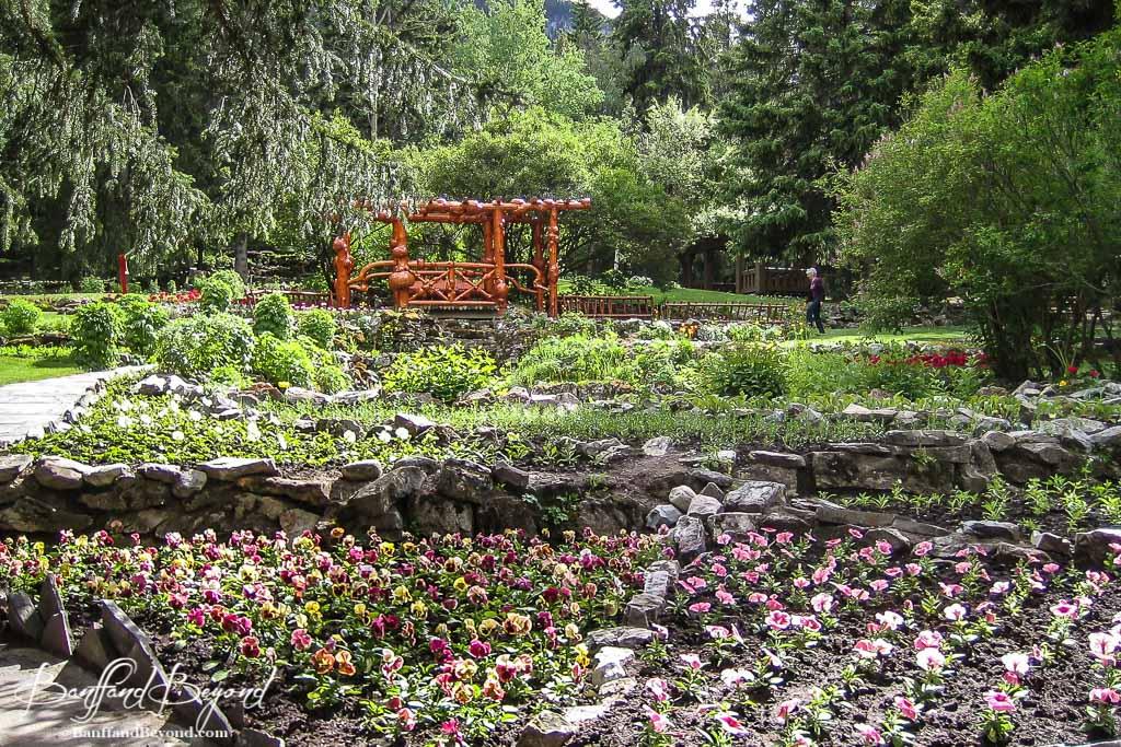 Cascade Gardens Off The Beaten Path In Banff | BanffandBeyond