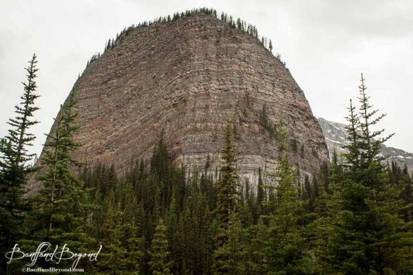 big beehive near lake agnes in lake louise