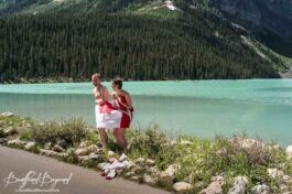 Lake Louise Polar Bear Dip And Canada Day Celebrations