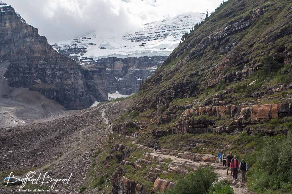 Tips for hiking the Plain of Six Glaciers Tea House Trail ...