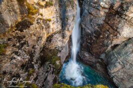 Johnston Canyon Hiking In Spring, Summer And Fall