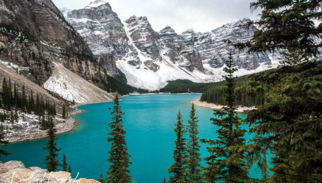 The Lake With The Twenty Dollar View, Moraine Lake