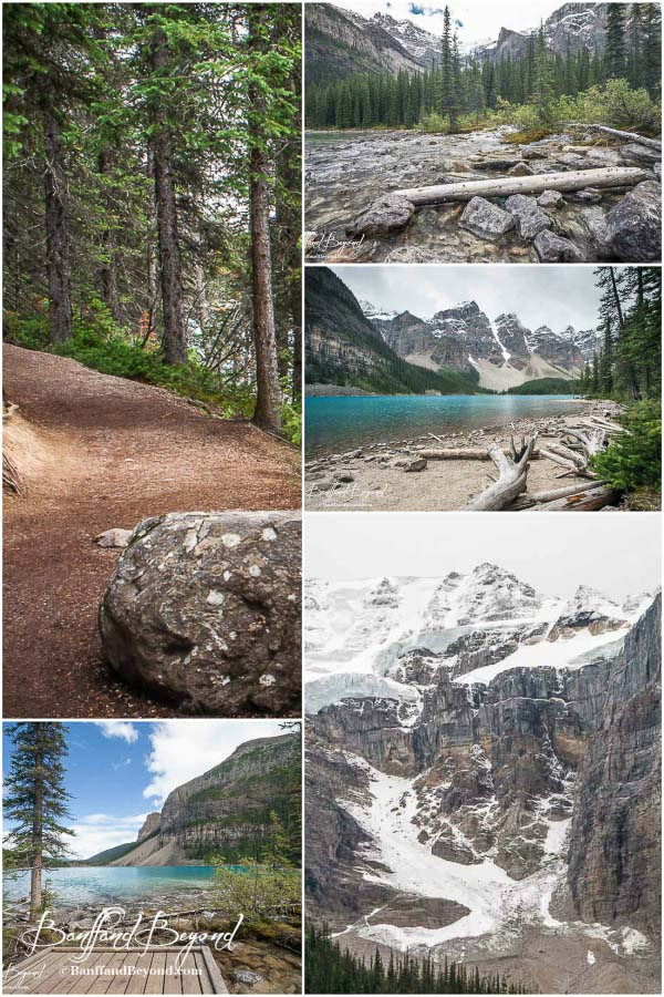 moraine-lake-shoreline-trail-easy-walk-flat-pathway-views