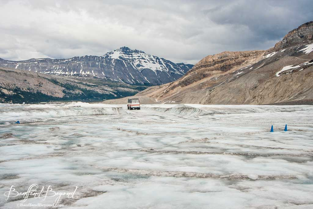 fca9fa1c48bf ... ice explorer traveling across the athabasca glacier at columbia  icefields ...