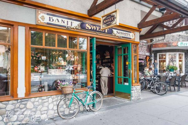banff sweet shoppe candy store downtown