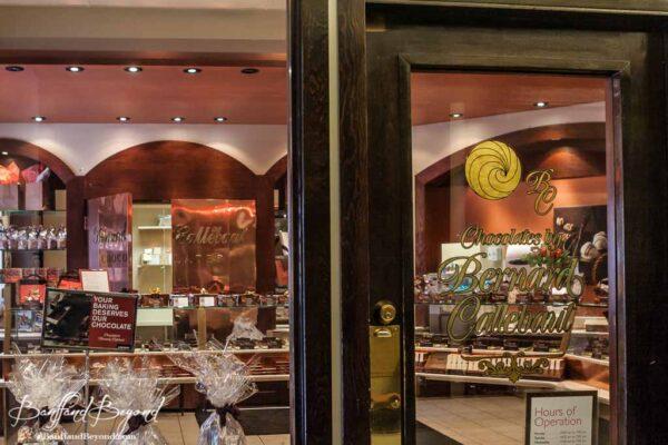 bernard callebaut chocolate shop downtown banff