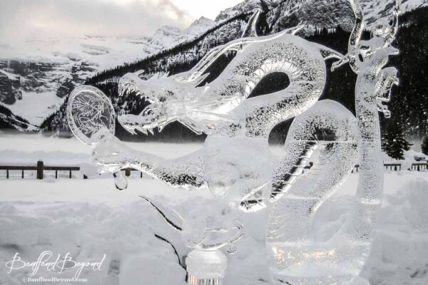 carved-dragon-sculpture-lake-louise-ice-magic-festival-winter-event