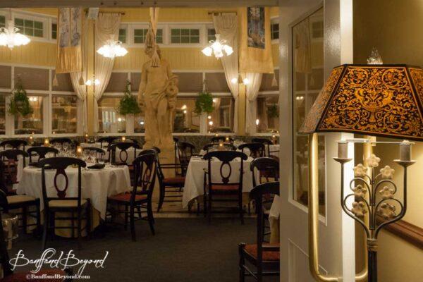 Italian castello ristorante at the banff springs hotel