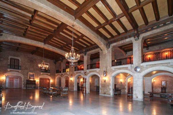 ballroom at the banff springs hotel
