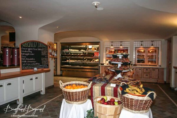 cheaper food at the deli at the banff springs hotel