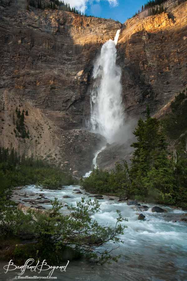 Takkakaw Falls Yoho National Park