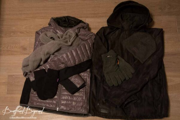 spring and fall outer clothing for the canada rocky mountains