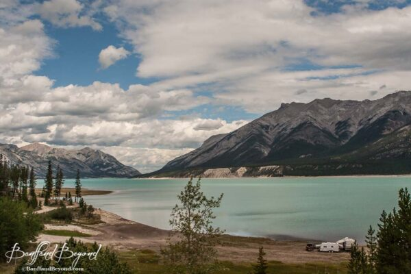 abraham lake david thompson corridor alberta