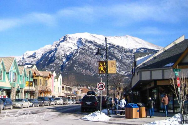 downtown canmore shops and restaurants