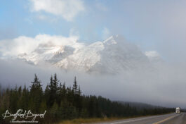 Driving Routes Between Vancouver And Banff And Jasper