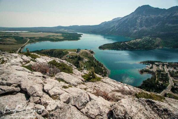 waterton lakes national park and prince of wales hotel