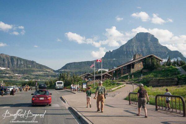 logan pass visitor center glacier national park