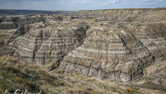 Drumheller And The Badlands, The Land Of Dinosaurs and Lunar Landscapes