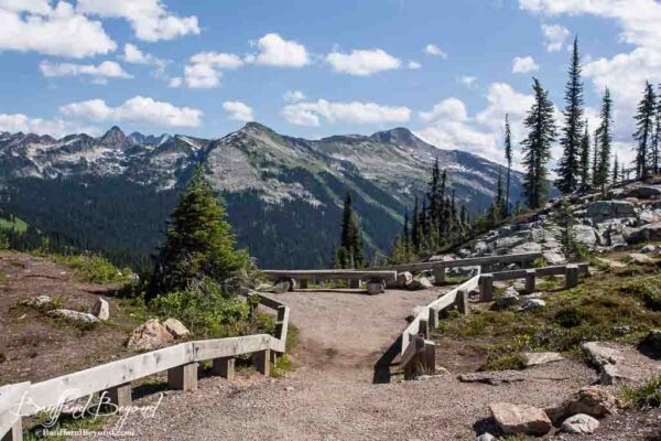 first footsteps trail mount revelstoke national park